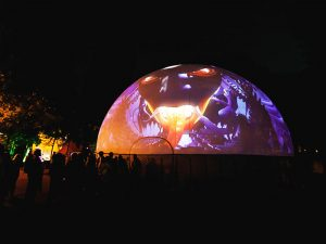 projection dome event