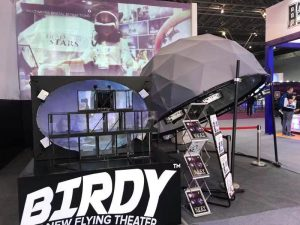 Fulldome.pro at the China Attraction Expo Shanghai 2018
