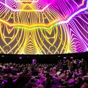 Next generation screens for projection domes