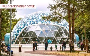 mobile planetarium with decorative cover