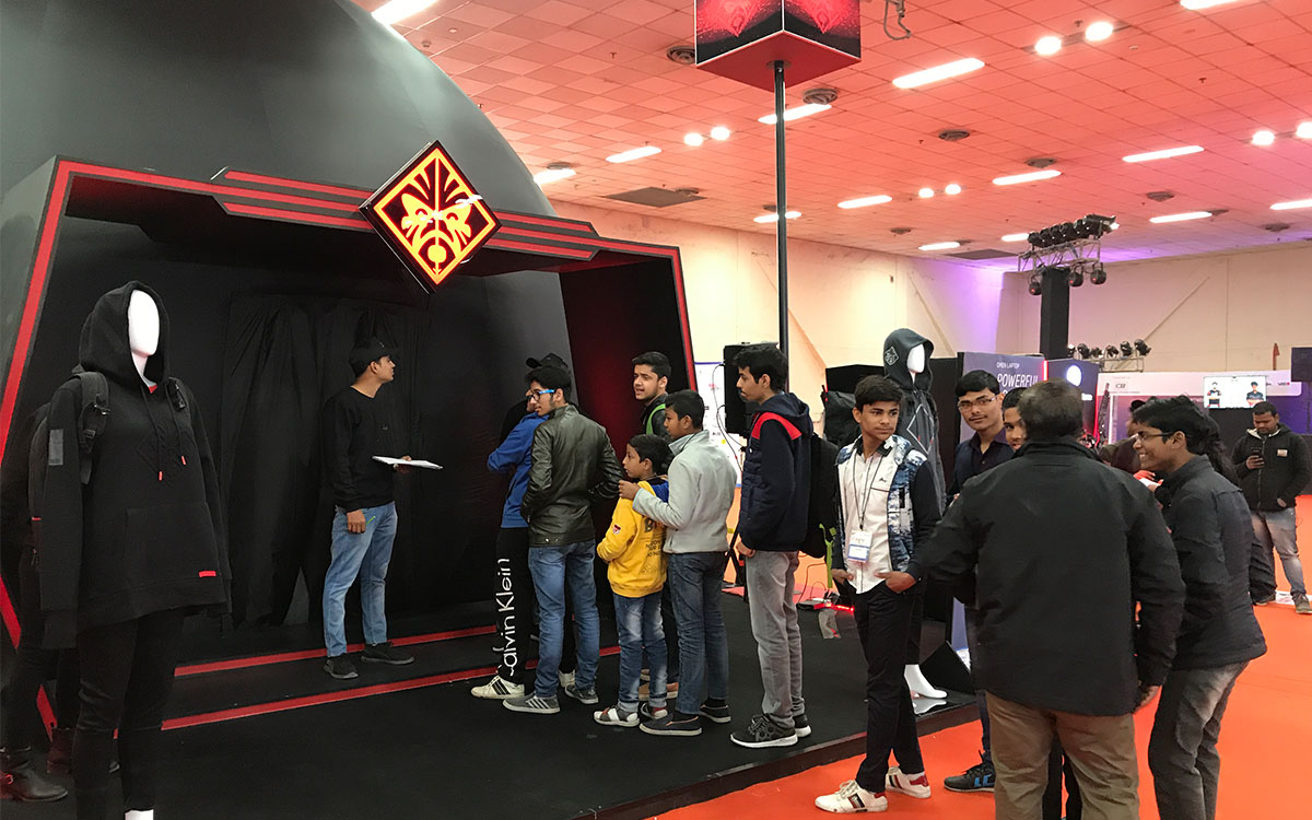 How to use an Event Dome at a gaming expo   Fulldome Pro